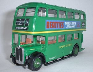 EFE 101005 AEC Regent RT - London Country - Route 314 Two Waters Garage - Beatties - PRE OWNED
